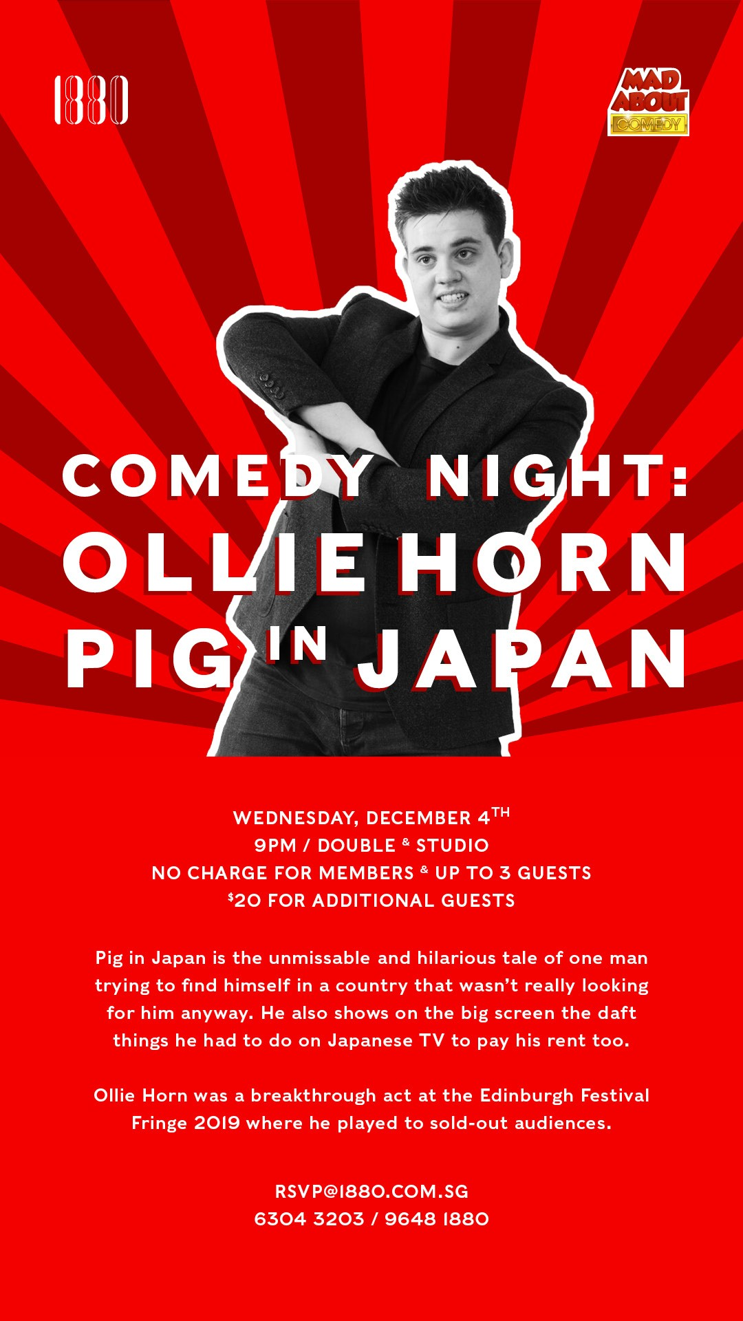 Comedy Night: Ollie Horn's Pig in Japan