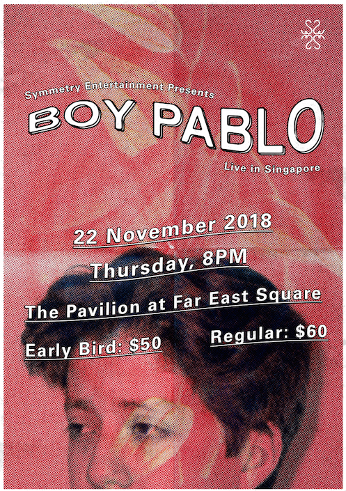 Boy Pablo - Live in Singapore