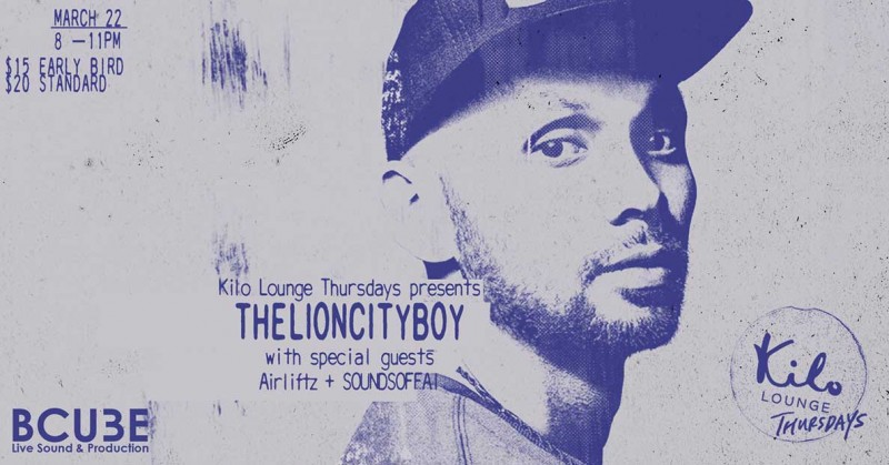 THELIONCITYBOY with special guests Airliftz, SOUNDSOFFAI