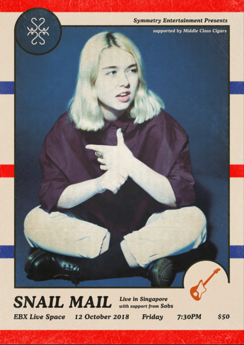 Snail Mail - Live in Singapore