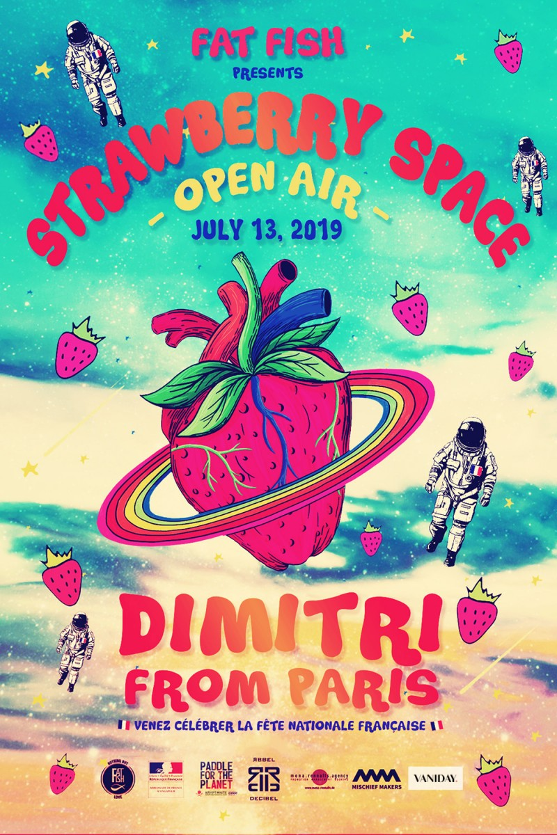 Strawberry Space OPEN AIR
