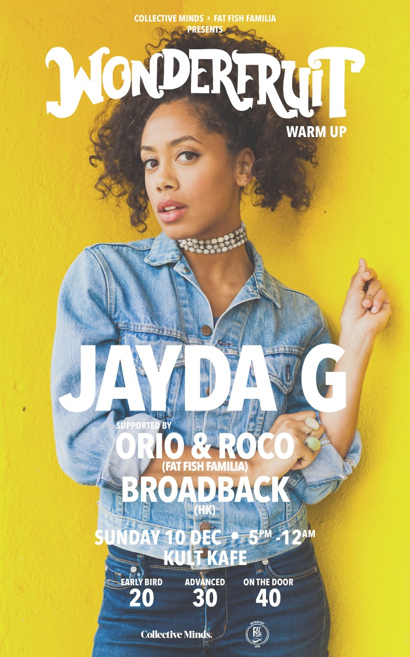 Collective Minds x Fat Fish Familia  Presents: Wonderfruit Warm Up Feat Jadya G, Orio & Roco, Broadback
