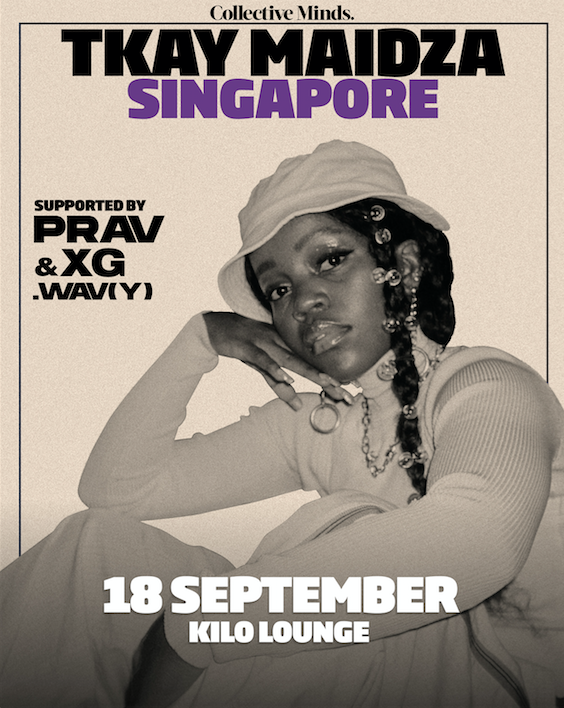 Tkay Maidza presented by Collective Minds x Kilo Lounge