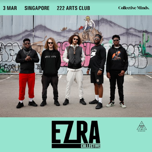 Ezra Collective presented by Collective Minds