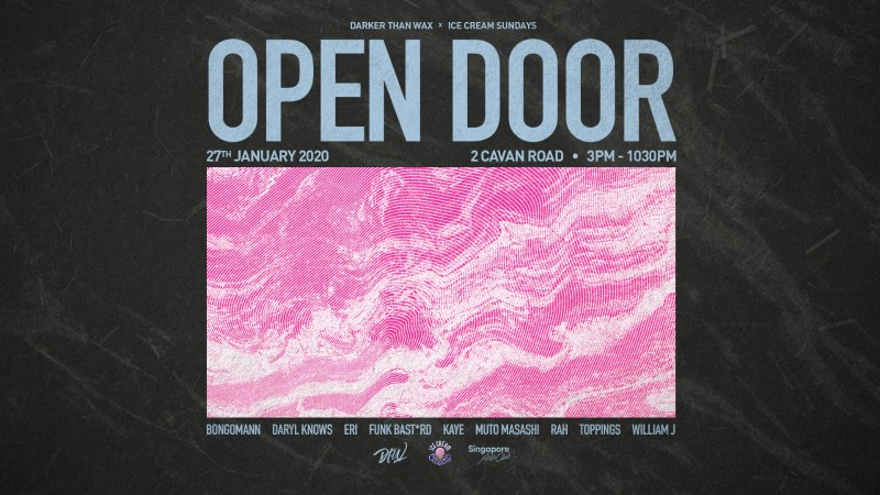 Ice Cream Sundays x Darker Than Wax: Open Door 4