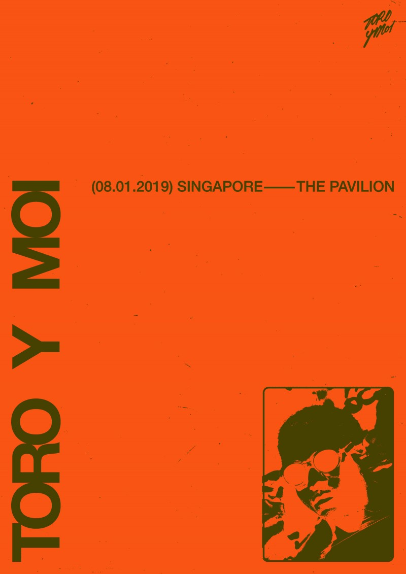 Toro y Moi LIVE in Singapore presented by Collective Minds