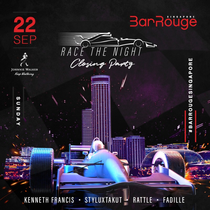 Race The Night - Closing Party with Bar Rouge Residents