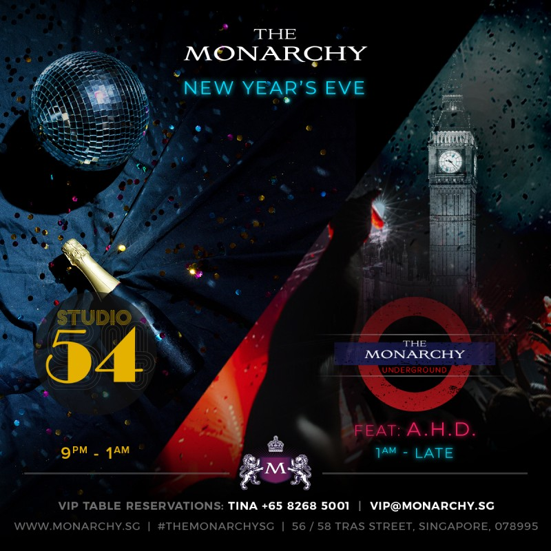 A ROYAL NEW YEARS EVE AT THE MONARCHY