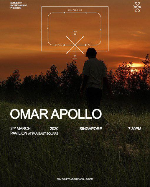 Omar Apollo - Live in Singapore