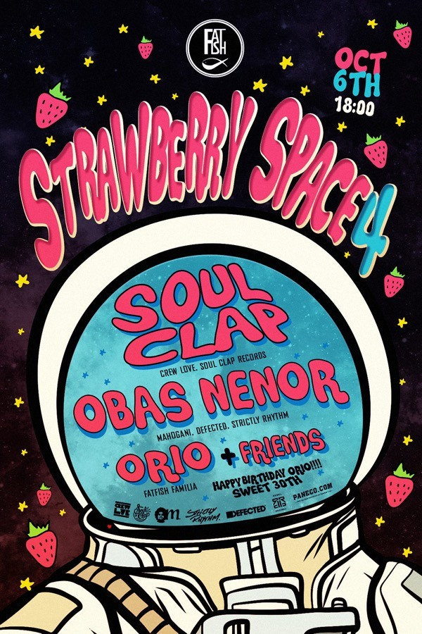 Strawberry Space 4.0