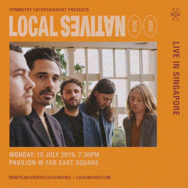 Local Natives - Live in Singapore