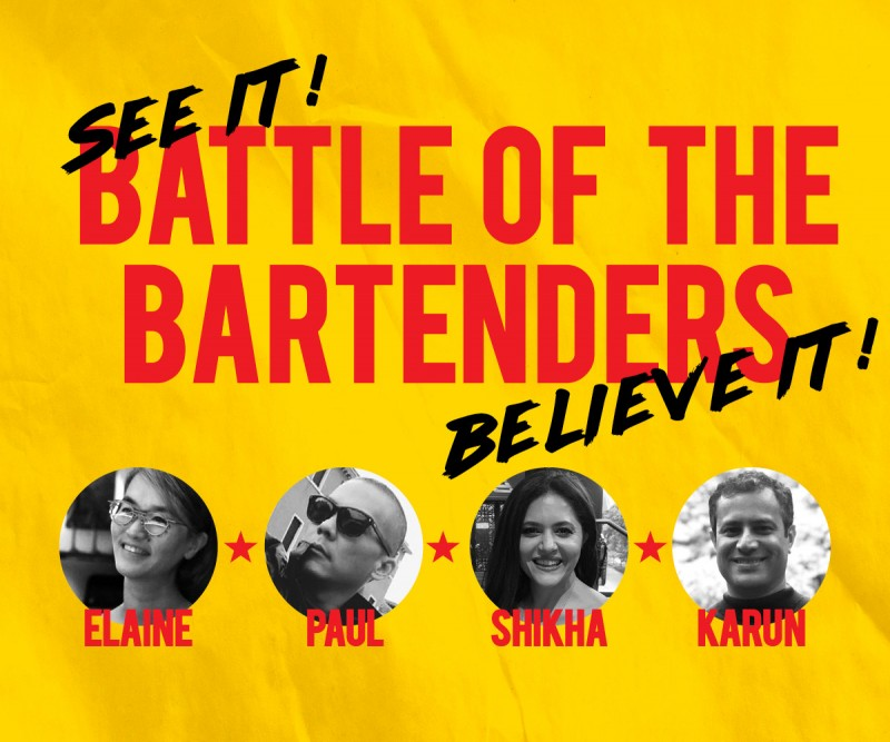 Battle of Bartenders: ELAINE vs. PAUL & SHIKHA vs. KARUN