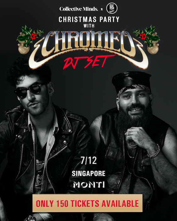 Chromeo - A Christmas Special: presented by CM x Fat Fish